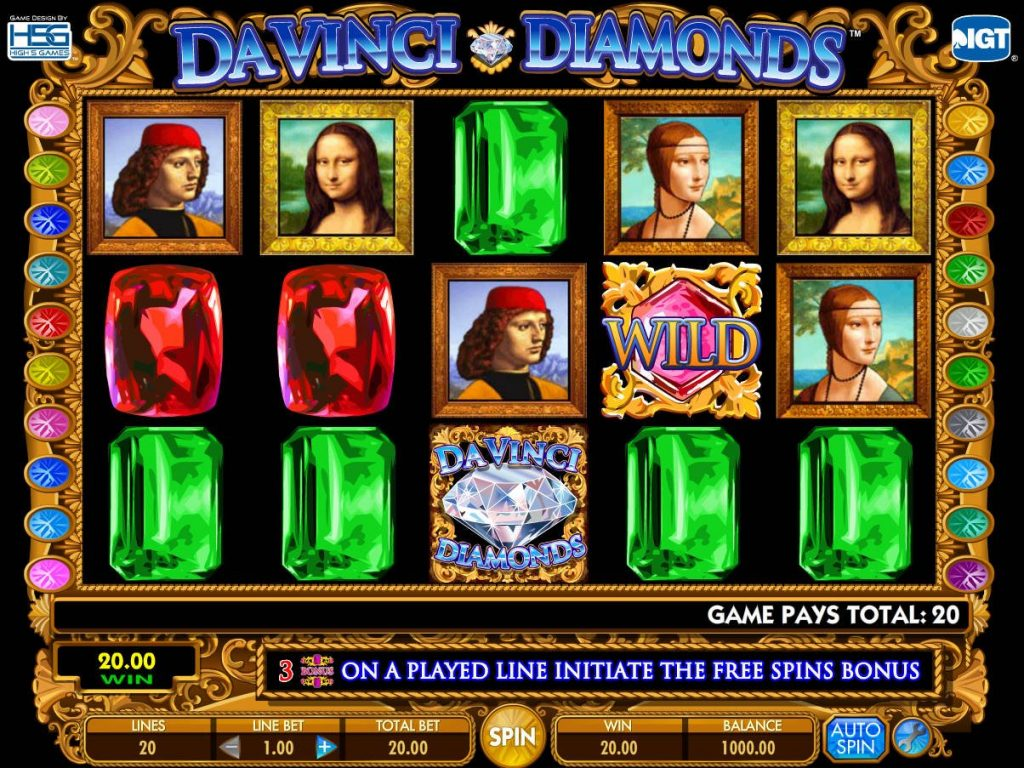 DaVinci Diamonds Slot Review