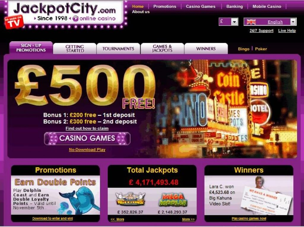 Betfred Casino Jackpot Winner